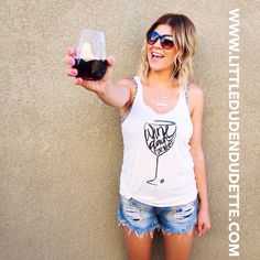 *WINE-Down For What, Womens Tank
