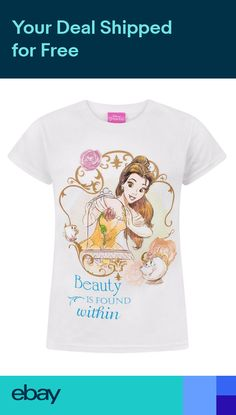 30163d443 Beauty And The Beast Beauty Is Found Within Girls T-Shirt