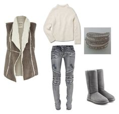 """""""Untitled #12"""" by adriana-elena-pusco on Polyvore featuring Dylan, Balmain, Theory and UGG Australia"""