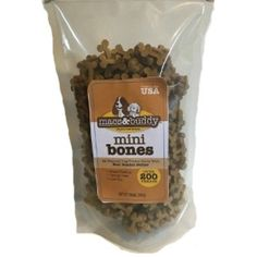 Talk to Me Dog Mini Bones - NEW Peanut Butter Flavor - 14 oz resealable stay-fresh bag - Over 200 treats! @ You can find out more about the great product at the image link. (This is an affiliate link and I receive a commission for the sales)