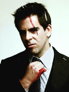 Eli Roth... a little psycho but gorgeous none the less...
