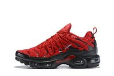 sale retailer e8ab2 96d9e Drake Reveals Nike Air Max Plus For Stage TN 2019 Bright Red Black Sneakers  Men s Running Shoes NIKE-CIU011996
