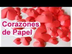 Aprende como hacer hermosos corazones de papel para regalar o decorar tus regalitos el día de san valentin este 14 de febrero, son muy fáciles de hacer y muy...