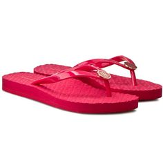 Japonki TOMMY HILFIGER - Monica 33R FW56820726 Pink Spice 660