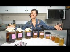 3 Kombucha Recipes – Sandy La Pastelera Make Your Own Kombucha, Kombucha Recipe, Fermented Tea, Important Facts, New Flavour, Glass Jars, Videos, New Baby Products, My Favorite Things
