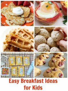 Skip the morning chaos and try these easy breakfast ideas for kids
