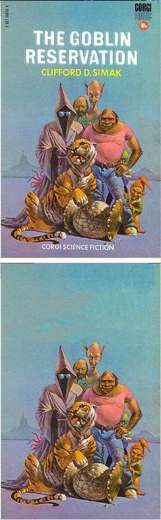 BRUCE PENNINGTON - The Goblin Reservation by Cliford D. Simak -1971 Corgi Books - cover by isfdb - print by brucepennington.co.uk