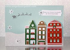 Stampin' Up! Nordic Noel card by Angela Sargeant