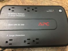 APC Back-Up 6*outlet Power Supply 120V 350VA Battery Surge Protector - http://electronics.goshoppins.com/power-protection-distribution/apc-back-up-6outlet-power-supply-120v-350va-battery-surge-protector/