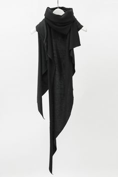 Stole cotton & cashmere (Note to self: Try to make something like this, maybe with a hood)