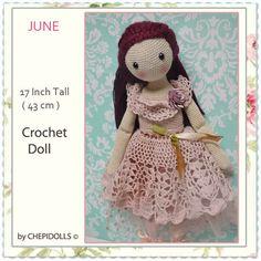 Hey, diesen tollen Etsy-Artikel fand ich bei https://www.etsy.com/de/listing/231942245/crochet-doll-finished-doll-17-inch-tall