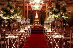 Wedding Aisle Decoration Design