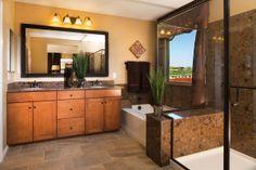 The Summit at Amado in Summerlin, a KB Home Community in Las Vegas, NV (Las Vegas) This bathroom tho!!!!!