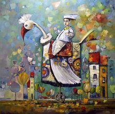 Obecnie na aukcjach Andrzej Gudanski - Far expedition Ed Fairburn, Surrealism, Auction, Symbols, Unique, Painting, Art, Over Knee Socks, Art Background