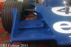 1975 spec Tyrrell Cosworth 007, Donington Park Museum.