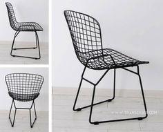 Harry Bertoia Side Chair, De De Ce, approx. $1250 each