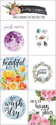 Pretty + Paper Shop on Etsy