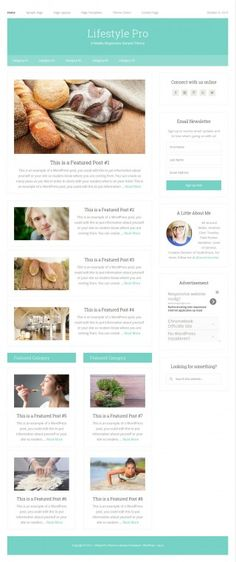 LifeStyle Pro Theme Review - StudioPress