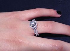 While you are tying those holiday bows this season, why not tie the knot?!  #TieTheKnot #Diamonds #EngagementRings
