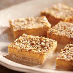 Pumpkin Cheesecake Bars from Eagle Brand