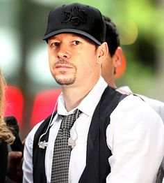 Donnie Wahlberg. Met as a waitress at LaVerne country club 2000. And in several NKOTB concerts.