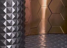 MDC Dimension Walls  deeply embossed panels are available in a variety of textures and finishes. Brining your space from ordinary to extraordinary. MDC's custom program allows for endless design opportunities. Dimension Walls panels can be applied to flat or curved surfaces; walls, columns, ceilings and more.