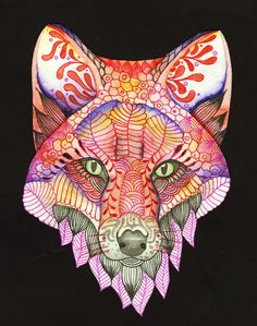 Foxes are honored by the Native Americans as a symbol of nobility, meant to inspire us with the message that we must remain in a determined, powerfully focused mindset to achieve our goals.   I feel as if the spirit of the fox is with me as I continue to make art and share it with others.