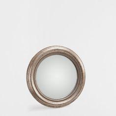 Miroir ovale noir zara home france wc s par s salle for Miroir zara home