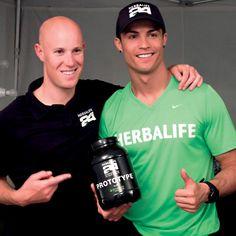 Cristiano Ronaldo Herbalife 24 athlete