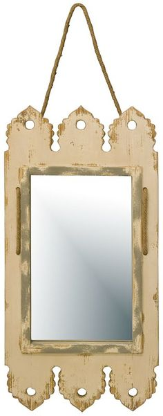 Shipwrecked and Salvaged Mirror