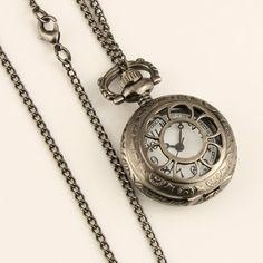 Watches Cardcaptor Sakura Pocket Watch Women Cute Pink Sakura Magic Array Dial Girl Ladies Watch Clock Pendent Necklace Chain Best Gift Fancy Colours