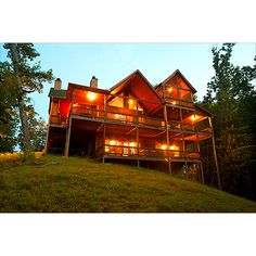 Linger Longer Cabin, Blue Ridge Mountains.  I'm going to have to check it out!