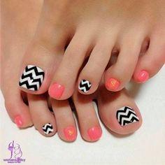 Toe Nail Art Designs Ideas For Girls Summer 2014