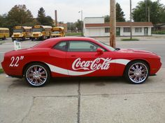 Dodge Challenger Coca-Cola Car