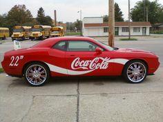 Dodge Challenger Coca-Cola Car