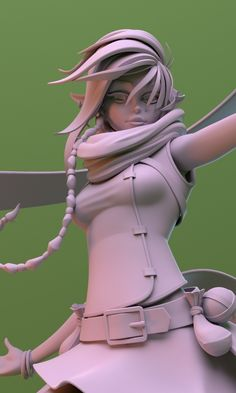ArtStation - Elf Character WIP, Paul Deasy