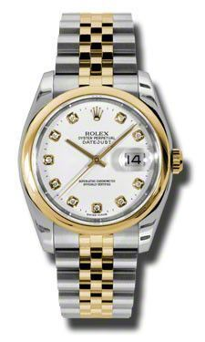 33c11b54d8f Rolex - Datejust 36mm - Steel and Gold Yellow Gold - Domed Bezel - Jubilee