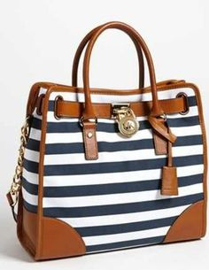 Nautical Michael Kors - this is on my wish list!! I could use it as a diaper bag, RIGHT?! lol