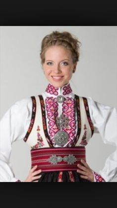 Beltestakk Folk Costume, Costumes, Norwegian Clothing, Norway, Russia, My Style, Inspiration, Clothes, Beauty