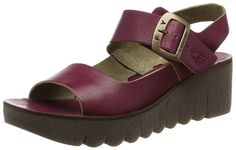 5beaf9662803 Fly London Yael Women s Wedge Sandals  Amazon.co.uk  Shoes   Bags