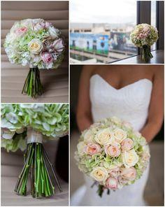 Soft + romantic wedding bouquet // Urban Safari Photography // #weddingflowers #bouquet