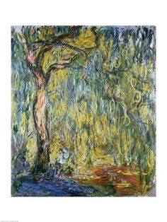 Claude Monet- The Large Willow at Giverny