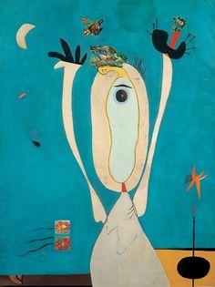 Joan Miró: Metamorphosis, 1936.