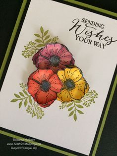 Stampin Up Amazing You Stamp Set Sale-a-bration Card - Rosanne Mulhern