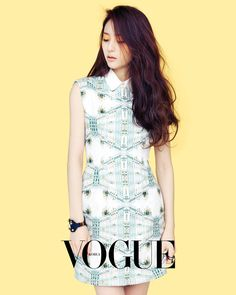 """Krystal Radiates Spring in Photoshoot With """"Vogue"""""""