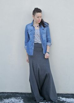 Plane Pretty | Travel and Lifestyle Blog | Modest Fashion: Maxi skirts...the dressy sweatpants.