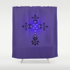 Add Maiorem Dei Gloriam Shower Curtain