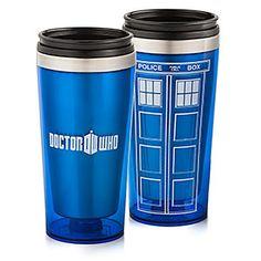 Doctor Who 16oz Travel Mug | ThinkGeek