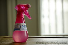 DIY: homemade air freshener