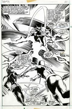 Daredevil #89 pg14 by Gene Colan & Tom Palmer